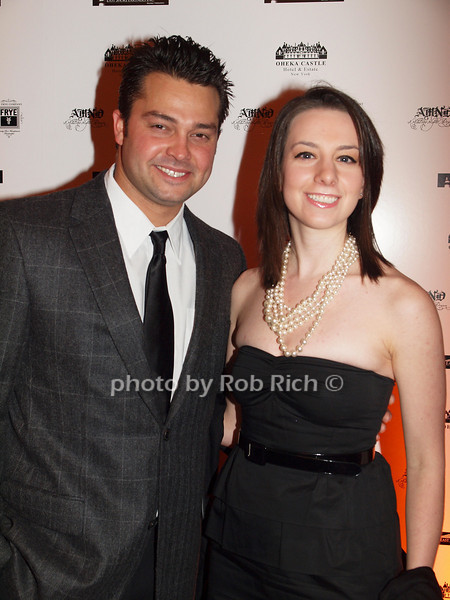 January 7:New York Yankee Nick Swisher and  skater Sarah Hughes attend the A MIDWINTER NIGHT'S DREAM RECOGNIZES HEROES FOR HOPE AT the Oheka Castle in Huntington on January 7, 2009.<br /> photo by Rob Rich © 2009 robwayne1@aol.com 516-676-3939Nick Swisher, Sarah Hughes