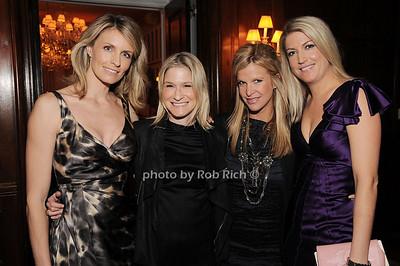 Jenny Kennedy, Julie Macklowe, Lesley Schulhof, Flo Fulton photo by Rob Rich © 2010 robwayne1@aol.com 516-676-3939