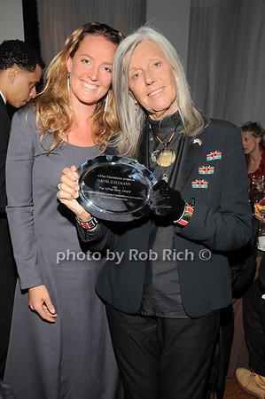 Sveva Gallmann, Kuki Gallmann<br /> photo by Rob Rich © 2010 robwayne1@aol.com 516-676-3939