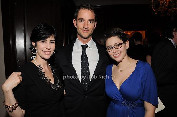 Lesliey  Goldwasser, Russell Hoffman, Rachel Plutzik<br /> photo by Rob Rich © 2010 robwayne1@aol.com 516-676-3939