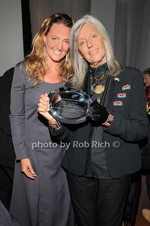 Sveva Gallmann, Kuki Gallmann<br /> photo by Rob Rich © 2010 robwayne1@aol.com 516-676-3939