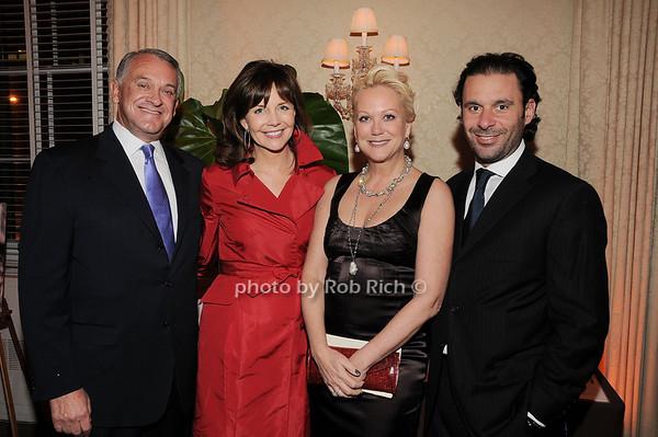 Tom Dittmer, Frances Schultz, Nina Griscom, Leonel Piraino<br /> photo by Rob Rich © 2010 robwayne1@aol.com 516-676-3939