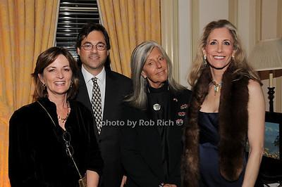 Suzan Garner, Bart Mandell, Kuki Gallmann, Patricia Glass photo by Rob Rich © 2010 robwayne1@aol.com 516-676-3939