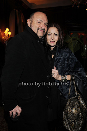 Bernard Aidan, Catherine Malandrino<br /> photo by Rob Rich © 2010 robwayne1@aol.com 516-676-3939