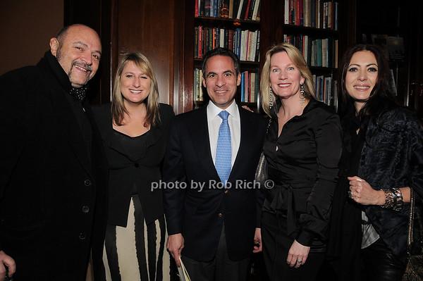 Bernard Aidan, Ellie Livvy, Roy Judelson, Mary Judelson, Catherine Malandrino<br /> photo by Rob Rich © 2010 robwayne1@aol.com 516-676-3939