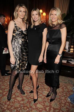 Jenny Kennedy, Ivanka Trump, Krista Krieger<br /> photo by Rob Rich © 2010 robwayne1@aol.com 516-676-3939