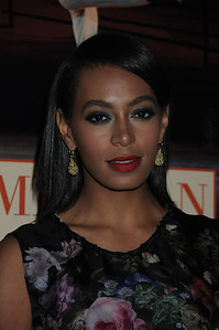 Solange Knowles American Ballet Theatre Opening Night Fall New York City Center Gala Arrivals New York City, USA- 10-16-12 all photo by Rob Rich © 2012 robwayne1@aol.com 516-676-3939