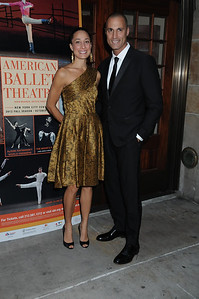 Cristen Barker and Nigel Barker American Ballet Theatre Opening Night Fall New York City Center Gala Arrivals New York City, USA- 10-16-12 all photo by Rob Rich © 2012 robwayne1@aol.com 516-676-3939