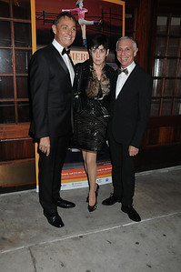 Raymond Lukens, Judith Hoffman, and guest American Ballet Theatre Opening Night Fall New York City Center Gala Arrivals New York City, USA- 10-16-12 all photo by Rob Rich © 2012 robwayne1@aol.com 516-676-3939