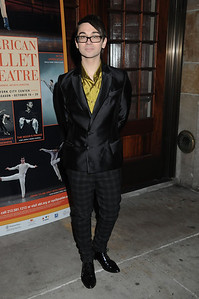 Christain Siriano American Ballet Theatre Opening Night Fall New York City Center Gala Arrivals New York City, USA- 10-16-12 all photo by Rob Rich © 2012 robwayne1@aol.com 516-676-3939