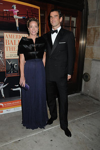 Nancy McCormack and Christopher Brainard American Ballet Theatre Opening Night Fall New York City Center Gala Arrivals New York City, USA- 10-16-12 all photo by Rob Rich © 2012 robwayne1@aol.com 516-676-3939