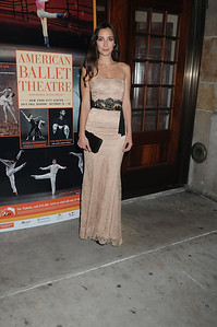 Rebecca Dayan American Ballet Theatre Opening Night Fall New York City Center Gala Arrivals New York City, USA- 10-16-12 all photo by Rob Rich © 2012 robwayne1@aol.com 516-676-3939