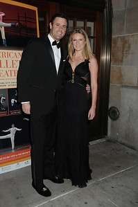 guest and Alexandra Leighton American Ballet Theatre Opening Night Fall New York City Center Gala Arrivals New York City, USA- 10-16-12 all photo by Rob Rich © 2012 robwayne1@aol.com 516-676-3939