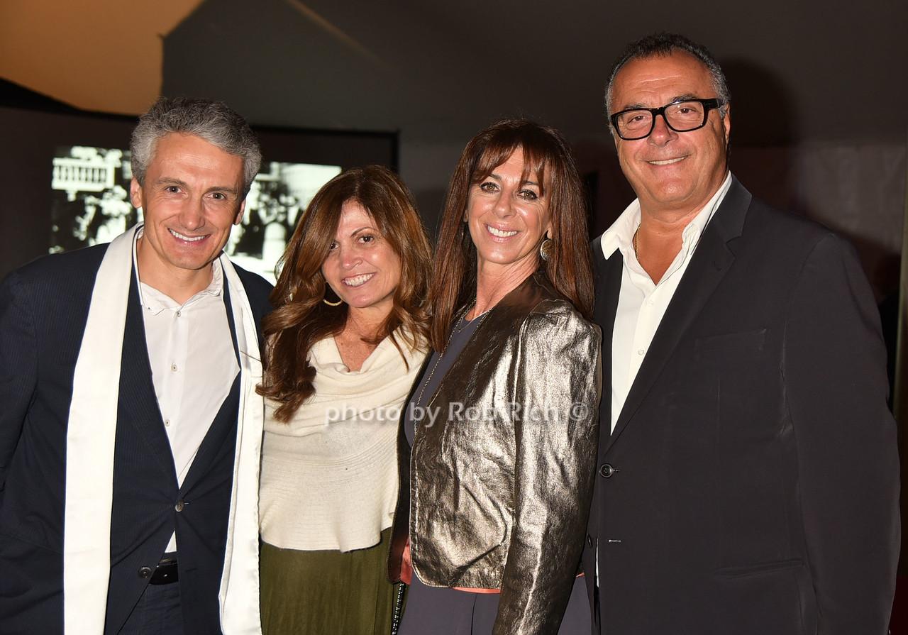Frank Boulben, Kim Mogul, Francine Eisenberg, Gillis Poll photo by Rob Rich/SocietyAllure.com © 2016 robwayne1@aol.com 516-676-3939