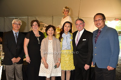Minsum Kim (yellow dress), guests photo by Rob Rich/SocietyAllure.com © 2016 robwayne1@aol.com 516-676-3939