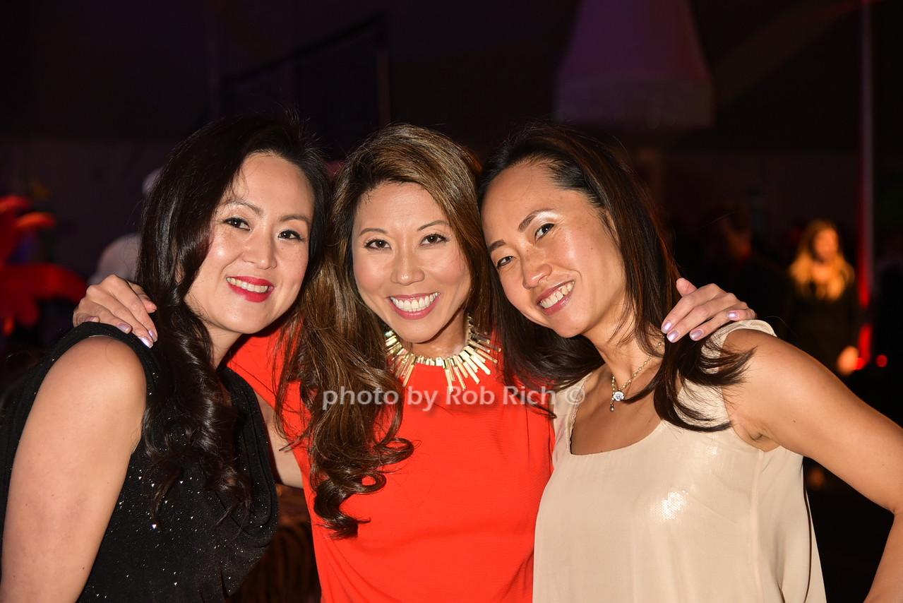 Grace Shin, Linda Cho, Hye Heo photo by Rob Rich/SocietyAllure.com © 2016 robwayne1@aol.com 516-676-3939