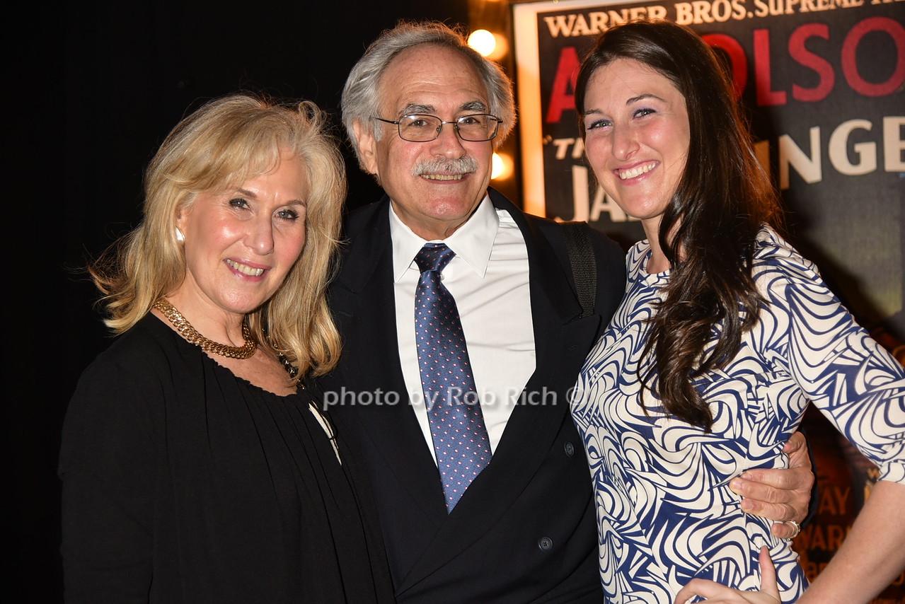 Ellen Berk, Bill Jacobs, Morgan Berkphoto by Rob Rich/SocietyAllure.com © 2016 robwayne1@aol.com 516-676-3939