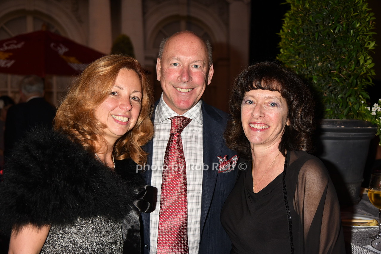 Sandy Krasnoff, Donna Chisolm, Eric Krasnoff 