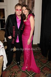 Elton John, Elizabeth Hurley photo by Rob Rich © 2010 robwayne1@aol.com 516-676-3939