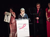 Evelyn Lauder, Bette Midler, Elton John, Elizabeth Hurley<br /> photo by Rob Rich © 2010 robwayne1@aol.com 516-676-3939