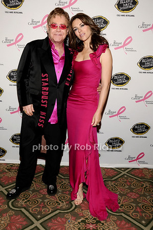Elton John, Elizabeth Hurley