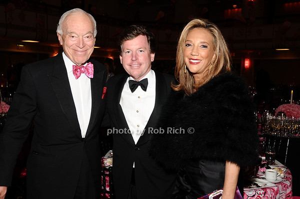 Leonard Lauder, guest, Denise Rich<br /> photo by Rob Rich © 2010 robwayne1@aol.com 516-676-3939