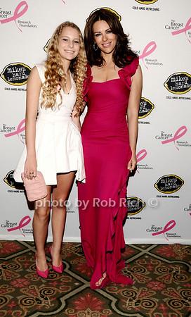 Danielle Lauder, Elizabeth Hurley<br /> photo by Rob Rich © 2010 robwayne1@aol.com 516-676-3939