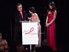 Elton John, Evelyn Lauder, Elizabeth Hurley<br /> photo by Rob Rich © 2010 robwayne1@aol.com 516-676-3939