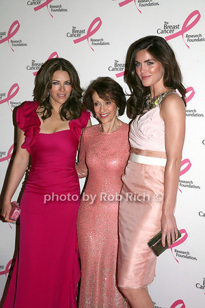 Elizabeth Hurley, Evelyn Lauder, Hilary Rhoda<br /> <br /> photo by R.Cole for Rob Rich © 2010 robwayne1@aol.com 516-676-3939