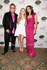 Elton John, Danielle Lauder, Elizabeth Hurley<br /> photo by Rob Rich © 2010 robwayne1@aol.com 516-676-3939