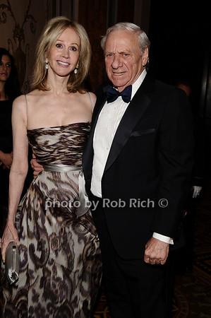 Jeanne Siegel, Herb Siegel<br /> photo by Rob Rich © 2010 robwayne1@aol.com 516-676-3939