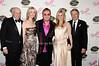 Herb Siegel, Jeanne Siegel, Elton John, Cynthia Lufkin, Dan Lufkin<br /> photo by Rob Rich © 2010 robwayne1@aol.com 516-676-3939