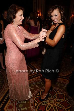 Evelyn Lauder, Karina Smirnoff<br /> photo by Rob Rich © 2010 robwayne1@aol.com 516-676-3939