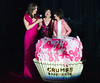 Elizabeth Hurley, Myra Biblowit, Evelyn Lauder<br /> <br /> photo by Rob Rich © 2010 robwayne1@aol.com 516-676-3939