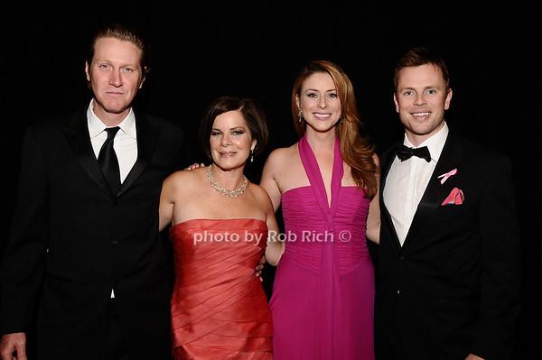 Thaddeus Shiel, Marcia Gay Harden, Diane Neal, Marcus Fitzgerald<br /> photo by Rob Rich © 2010 robwayne1@aol.com 516-676-3939