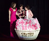 Elizabeth Hurley, Myra Biblowit, Evelyn Lauder<br /> <br /> photo by Rob Rich © 2010 robwayne1@aol.com 516-676-3939