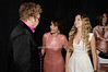 Elton John, Evelyn Lauder, Danielle Lauder<br /> photo by Rob Rich © 2010 robwayne1@aol.com 516-676-3939