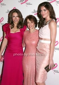 Elizabeth Hurley, Evelyn Lauder, Hilary Rhoda  photo by R.Cole for Rob Rich © 2010 robwayne1@aol.com 516-676-3939