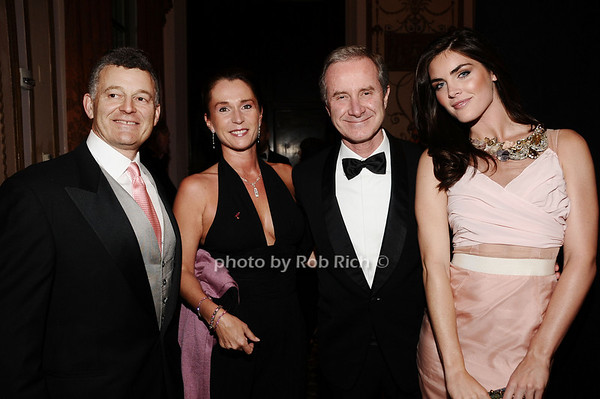William Lauder, Maryann Freda, Maryann Frieda, Hilary Rhoda<br /> photo by Rob Rich © 2010 robwayne1@aol.com 516-676-3939