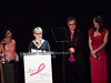 Evelyn Lauder, Bette Midler, Elton John, Elizabeth Hurley<br /> photo by Rob Rich © 2010 robwayne1@aol.com 516-676-3939