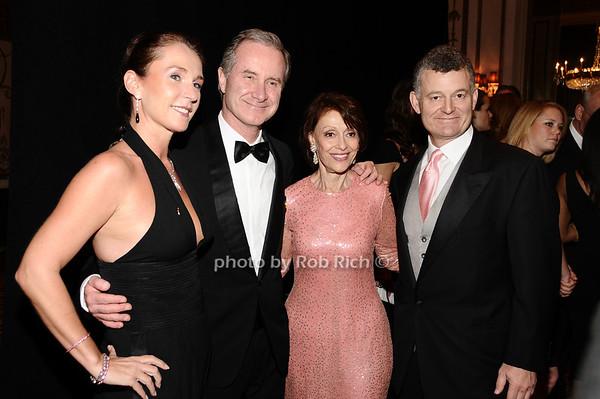Maryann Freda, Maryann Frieda, Evelyn Lauder, William Lauder<br /> photo by Rob Rich © 2010 robwayne1@aol.com 516-676-3939