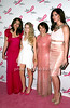 Elizabeth Hurley, Danielle Lauder, Evelyn Lauder, Hilary Rhoda<br /> <br /> photo by R.Cole for Rob Rich © 2010 robwayne1@aol.com 516-676-3939