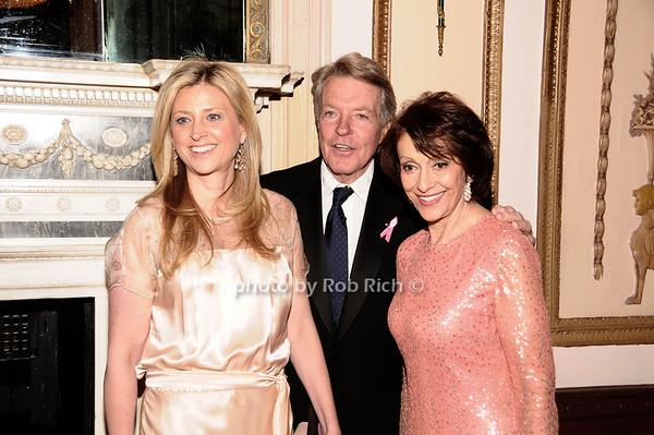 Cynthia Lufkin, Dan Lufkin, Evelyn Lauder<br /> photo by Rob Rich © 2010 robwayne1@aol.com 516-676-3939
