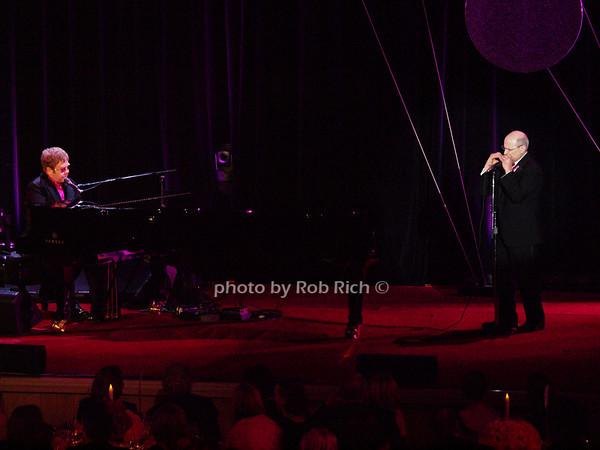 Elton John, Dr.Larry Norton<br /> photo by Rob Rich © 2010 robwayne1@aol.com 516-676-3939