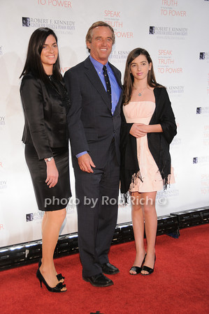 Mary Richardson, Robert F.Kennedy jr, Kyra Kennedy