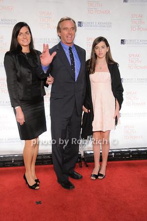 Mary Richardson, Robert F.Kennedy jr, Kyra Kennedy