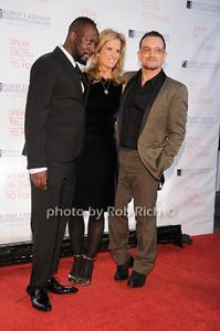 Wyclef Jean, Kerry Kennedy, Bono