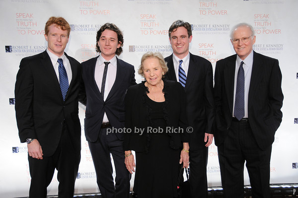 Kennedy family members, Ethel Kennedy, Charles Grodin