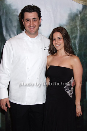 Chef Anthony Gonclaves, Angela Goncalves photo by Rob Rich © 2008 robwayne1@aol.com 516-676-3939