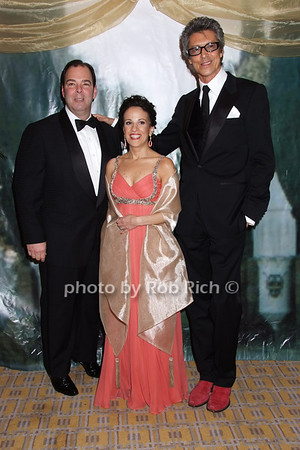 Peter Martino, Karen Martino, Tommy Tune photo by Rob Rich © 2008 robwayne1@aol.com 516-676-3939